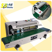 automatic plastic bag heat sealer sealing machine