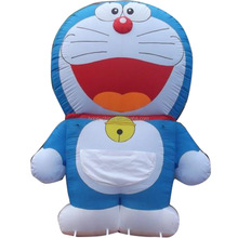 Advertising inflatable DingDang CAT model,promotion inflatable DDcat model
