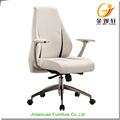 Cores opcionais médio altura ajustável cadeira giratória