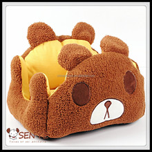 Dog/cat bed Bear shape pet bed comfortable dog Teddy Poodle bed