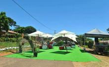 G021 Balcony pavilions decoration artificial grass