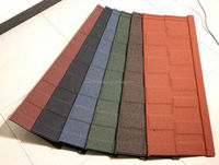 color metal roofing sheet tile for Africa/decorative house material for roof/CE certificate roof tile made in china/