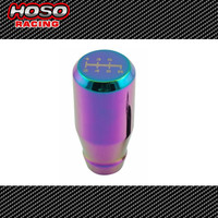 6 SPEED NEO Chrome HOSO RACING Universal For Manual/Automatic Gear Shift Knob