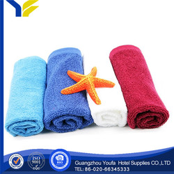 bleached Guangzhou 100% polyester dog &cat bath towels