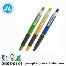 new arrive The color bar ball-point pen Plastic office ballpoint pen