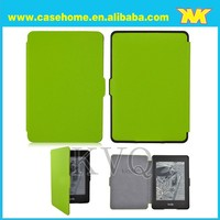 for 6 inch Amazon kindle paperwhite smart cover with various colors