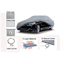 4 layer & cotton car cover, 4 layer car cover, 4 layer non-woven car cover