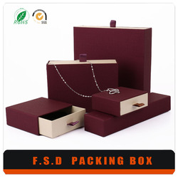 Free Design High Quality Custom Paper Jewelry Gift Box