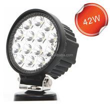 """Factory direct LED Work light Off Road Flood Light 4x4 Truck ATV UTV Round 4"""" 42w led work light"""