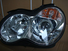 HOT SALE HEAD LIGHT USED FOR MERCEDES BENZ W203 C ''00-''04 crystal