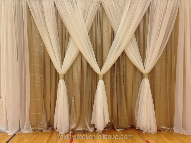 factory price wedding backdrop curtains professional