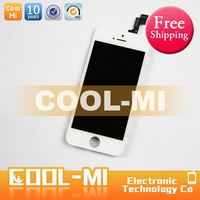 FREE SHIPPPING SALE for apple iphone 4 s OEM lcd display , for iphone 4s complete front assembly lcd digitizer