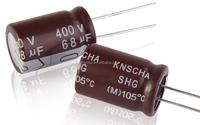 Aluminum electrolytic capacitor 250v 47uf (13x25mm) ,Low impedance, High Ripple Current Aluminum electrolytic capacitors