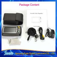 Um032 4.3 pulgadas portátil ayuda a la baja visión lupa digital de
