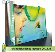 Customized Pictures Printing Laminated PP Non Woven Bag