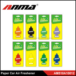 ANMA Customized design hanging car air freshener , paper car air freshener