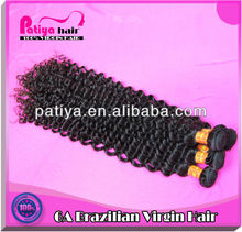 Human Virgin Raw Unprocessed Brazilian Hair No Chemical Deep Curly
