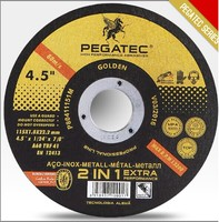 "4.5"" 115x1x22mm abrasives cut off wheel"
