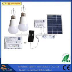 3.7V/5AH Battery Solar Panel Lighting Kit Solar Home DC System Kit as Emergency Light