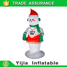 RARE GIANT 150cm CHRISTMAS SNOWMAN Airblown Inflatable Yard Decoration