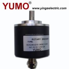 YUMO ISC5208 52mm 8mm Auto type CNC Machine Solid shaft encoder optical price motor sew digital tv headend equipment cat