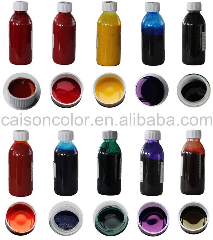 Resin Type Latex Liquid Pigment Dispersion For Coloring - Buy Latex ...