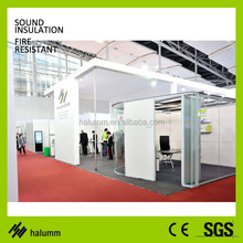 office partition glass wall for workshop showroom exhibition room workstation