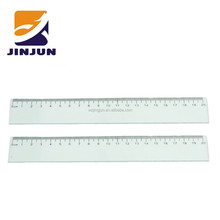 20 cm transparent plastic ruler for kids