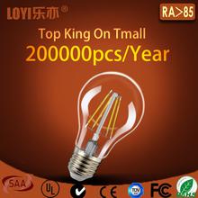 Bottom price top sell led bulb e27 A60 led lighting bulb
