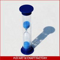 hourglass sand timer/liquid sand timer/1 minute sand timer