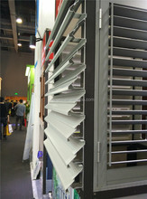 Aluminium profile for louvre door