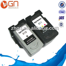 Compatible ink cartridge for Canon PG810 CL811for Canon PIXMA MP245/MP258/MP268