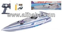 "36"" 1:16 Scale R/C High Performance Racing Boat With 380 Motor BXC White"