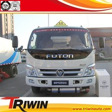 CHINA NEW FOTON EURO 4 CHASSIS CUMMINSES 140 HP DIESEL ENGINE 5000 LITER FUEL TANK TRUCK CHEAP PRICE SALE