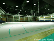 Basketball League used pprofessional plastic/pvc roll flooring mat
