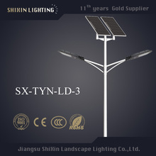3m to 12m lighting pole LED street antique lighting pole solar street light