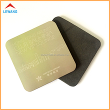 Custom Made Durable Metal Cup Coaster with Laser Engraving Logo Coaster