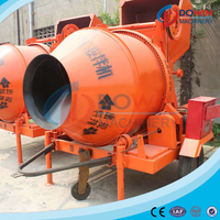 New launched products auto concrete mixer machine