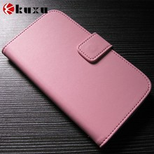 "Cheapest Big rotation 5.0"" phone bag /case original place in shenzhen TJ leather factory"