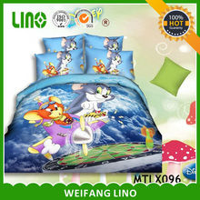tom and jerry bedding/printed bedding/favor bedding