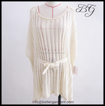 Newest trendy winter and autumn tunic sweaters for women lady girl BG151083, unique tunic sweaters