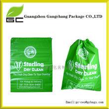 Custom large plastic laundry bag hotel plastic laundry bag