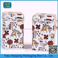 Multicolored candy tin cans,Cute Beijing opera printing Cookie&tea tin box