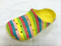 Girls Fasnhion Cartoon Printing Rainbow Sandals