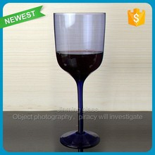 Color Glass Goblet Wine Cup Purple Color Glass Goblet Wine Cup Party Celebrate Drinking Wine Color Glass Cup Goblet