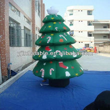 2013 China top 10 high quality inflatable mickey mouse and christmas tree