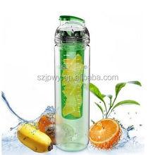 Sport Water Bottle with Fruit Infuser 32 oz joyshaker logo disposable Tritan & Leak Proof fruit infuser water bottle bpa free