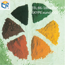 Iron oxide type/fine powder red color and yellow black brown pigment for paver/bricks/dye concrete chemical formula