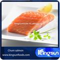 frutosdomar alta qualidade chum salmão congelado parcela