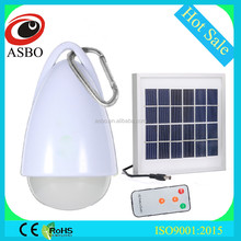 2W LED Portable Solar Light Waterproof for Outdoor Use